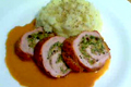 Holiday Season Stuffed Pork Tenderloin